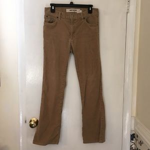 Well loved corduroy pants